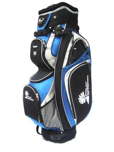 Palm Springs Golf Trolleybag mit 14-fach Unterteilung Blau
