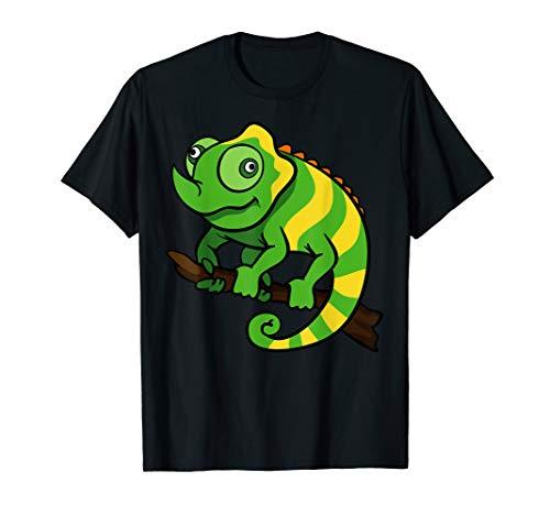 Chamäleon Leguan Terrarium Reptilien Terraristik Fun T-Shirt
