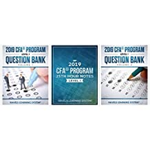 2019 CFA Level 1 Exam package - Question bank + 25th Hour Notes + Smart sheet