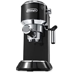 DeLonghi EC 680.BK - Cafetera (acero inoxidable, capacidad 1 litro, anti goteo), color negro