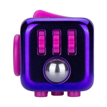 Fidget Cube Zuru Original – Serie 4 – Purple Chrome – Anti-Stress Spielzeug, Lila