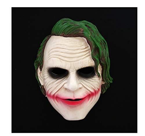 Clown Masken Von The Dark Knight - wanjuna Joker Harzmaske The Dark Knight