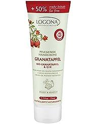 Logona Gel Crème main grenade bio Grenade & Q 10, Limited Edition, 50% plus de contenu, 75ml