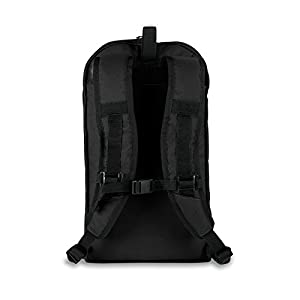 RESTRAP SUB Backpack-Black Sac à Dos Urbain étanche Mixte Adulte, Noir