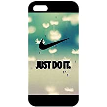 For Iphone 5 5s Carcasa Case,New Nike Just Do It Logo Hard Phone Plastic Case For Iphone 5