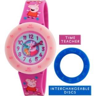 Peppa Pig Kunststoff Time Teacher Uhr (221353755)