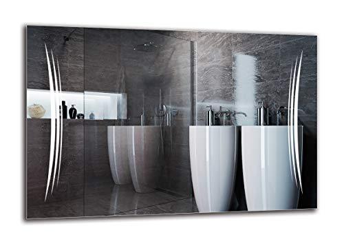 placage Rhodium Vincenzo Boretti Homme Boutons de Manchette pour Chemise Argent Classique /él/égant Design en n/œuds