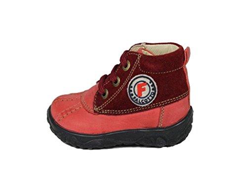 Naturino1120 - Stivali Desert Boots Bimba 0-24 , Rosso (rosso), 26