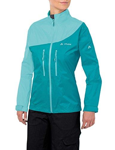 Vaude Damen Jacke Tremal Zip Off Rain Jacket, Reef, 42, 05475