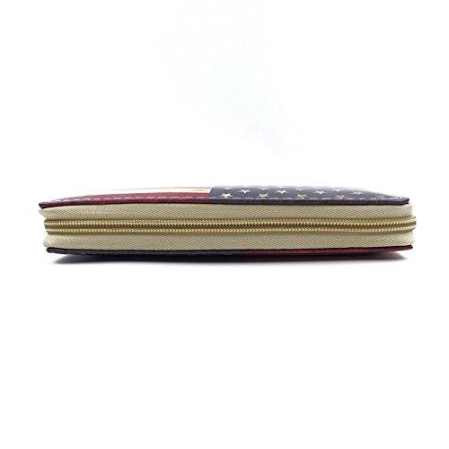 WiTa-Store , Portafogli  Uomo, Muster14 (multicolore) - 4060131052770 Muster18