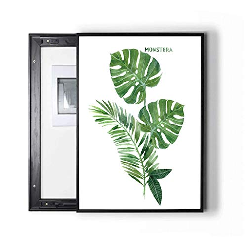 LITING Cuadro de medidor eléctrico Pintura Decorativa Fresca Moderna Simple Cubierta de...