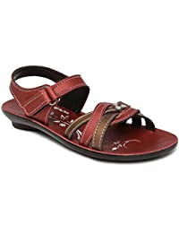 PARAGON P-Toes Kid's Brown Sandals
