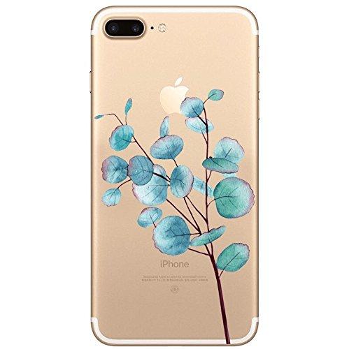 Cover iPhone 7Plus iPhone 8Plus, Sportfun morbido protettiva TPU Custodia Case in silicone per iPhone 7Plus iPhone 8Plus (07) 05