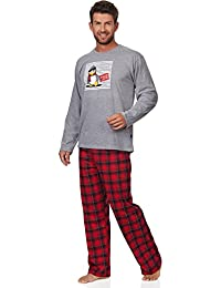 Cornette Ensemble Pyjama Homme CR-124-Penguin