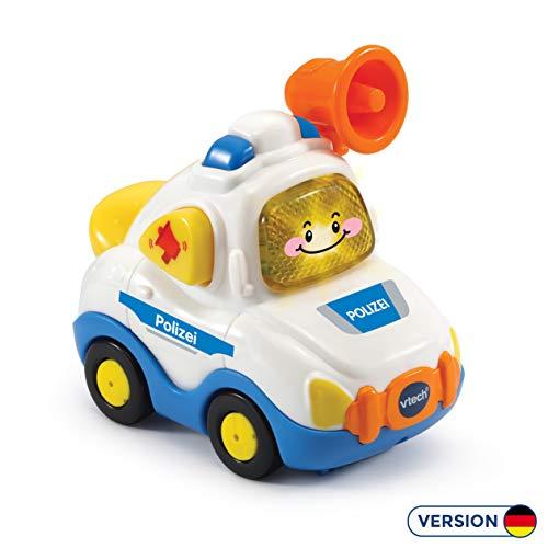 Vtech 80-517204 Tut Tut Baby Flitzer - Polizei, Babyautos, Mehrfarbig