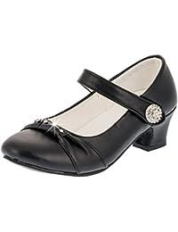 Max - Zapatos de vestir de Material Sintético para niña