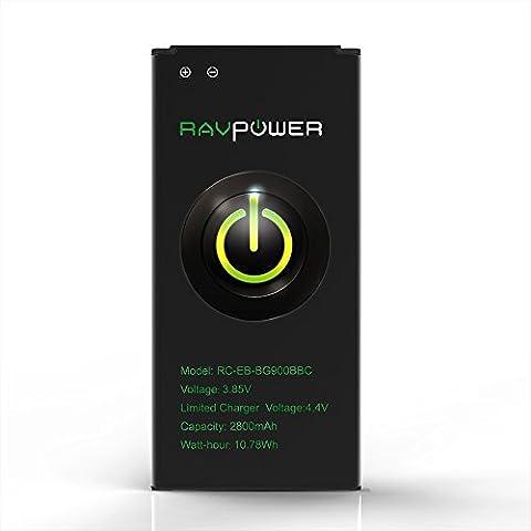 Telephone S5 Samsung - RAVPower Batterie de Samsung Galaxy S5 2800mAh