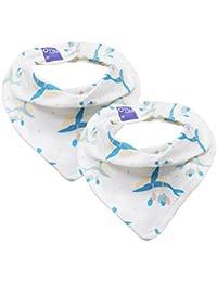 Gyratedream Baby Neck Warmer Girls Boys Collar Scarf Neckerchief Double Layer Warm Scarves Bandana for 0-12 Years Old Kids