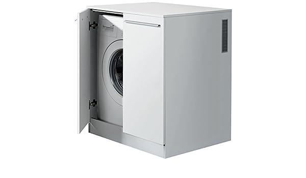 Fackelmann waschmaschinen unterbauschrank für waschmaschinen