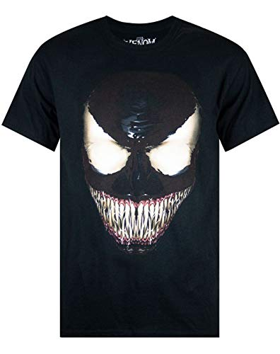 Marvel Venom Face Men's T-Shirt (L)