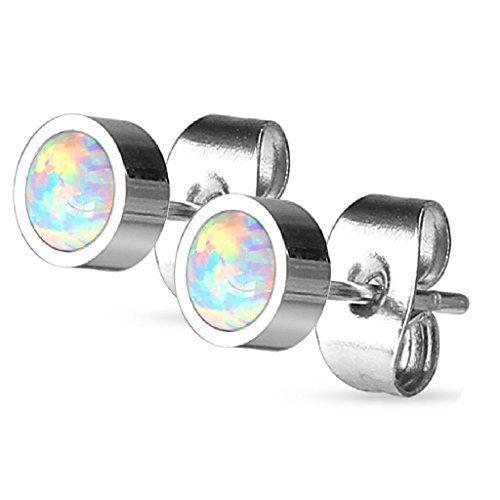 coolbodyart-piercing-orecchini-orecchini-in-acciaio-inox-con-synth-opal-in-diverse-taglie-acciaio-in