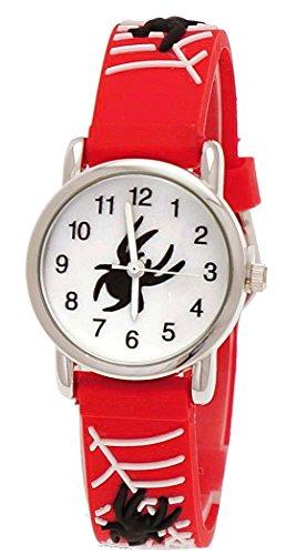 pure-time-enfants-les-enfants-bracelet-en-silicone-horloge-avec-araignees-homme-motif-rouge-blanc-av