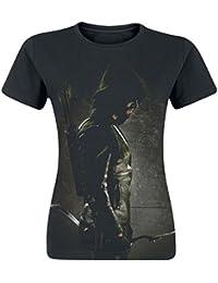 Arrow Archer Girl-Shirt schwarz