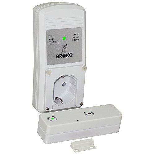 Funk - Abluft - Sicherheitsschalter BL220F(SG) / Funk Sicherheits Abluftsteuerung DIBt geprüft / Fensterschalter Wireless / Fensterkontaktschalter / BROKO