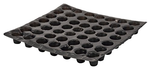 IRP Plastic Black Seed Trays (1000 Qty)