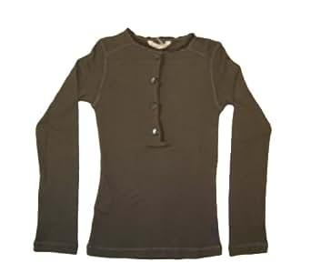 Bellerose Clothing Co - T-shirt -  - Manches longues Fille Marron Marron