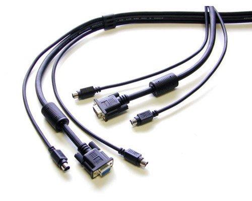 StarTech. com 6Füße 4in1USB DisplayPort KVM Switch Kabel mit Audio- und Mikrofon 6ft - VGA