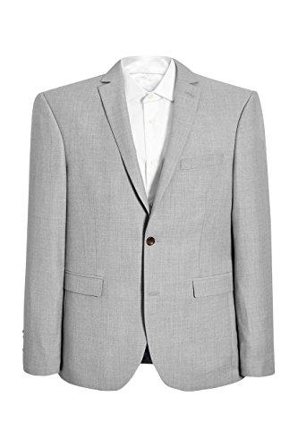 next Homme Coupe Slim Veste De Costume Chinée Gris