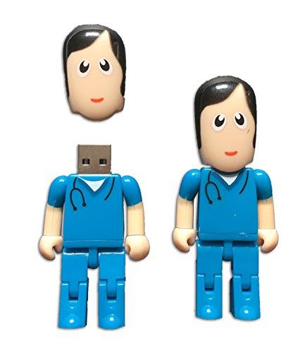Tomax medico infermiere rosa, pelle bianca come una chiavetta usb / 8gb di memoria / memory stick usb