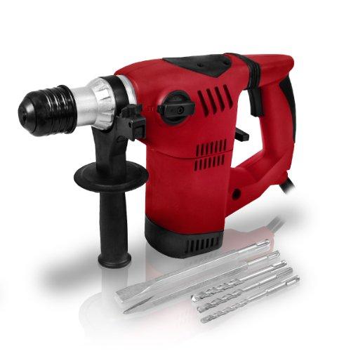 Berlan-1500-Watt-SDS-Bohrhammer-inkl-Bohrer-Meiel