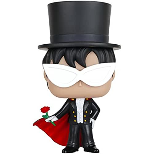 figuras kawaii Funko POP Anime: Sailor Moon - Tuxedo Mask Action Figure