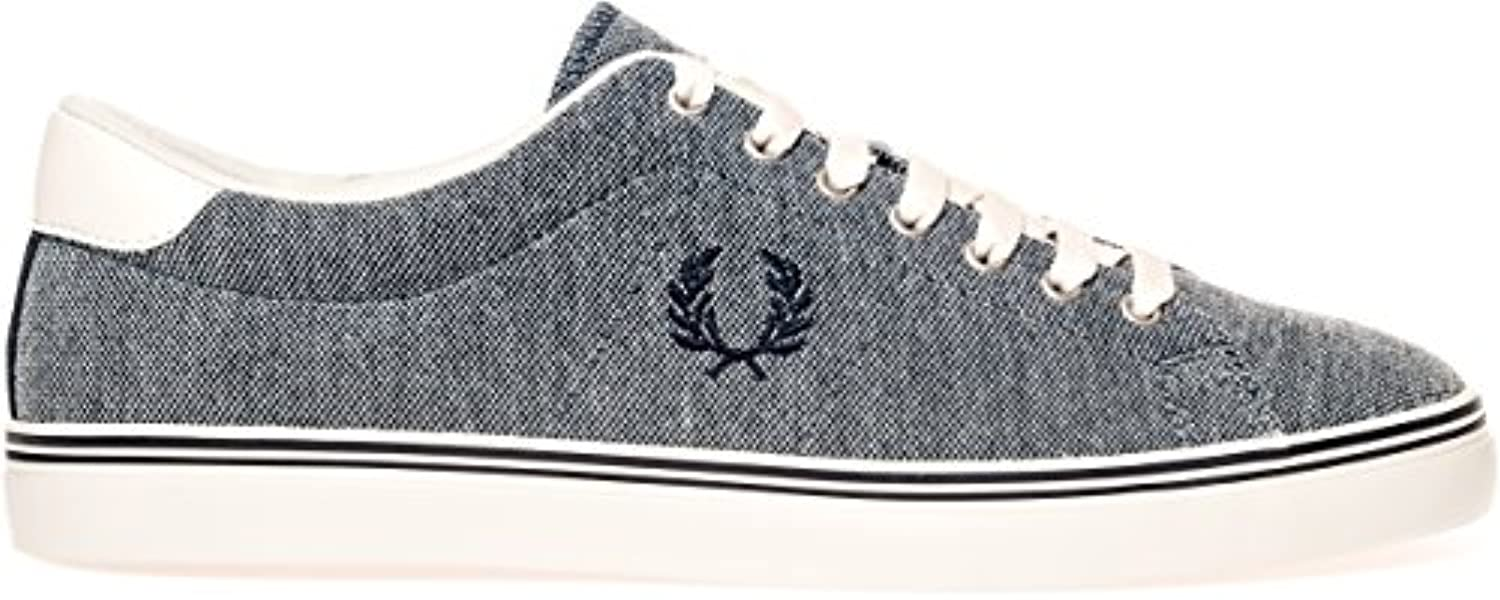 Fred Perry Underspin Oxford Pique Navy B1139608  Turnschuhe