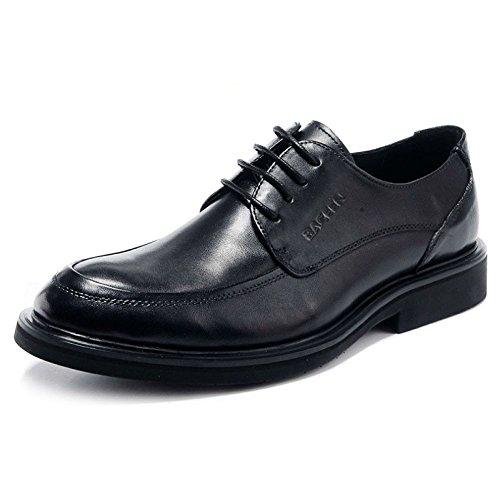 Formelle Business-Schuhe, Herren Spitz Leder Schnürung Derby Oxford Brautkleid Büro Schuhe in...