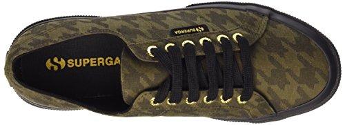 Superga Unisex-Erwachsene 2750-Cotupieddepoule Sneaker Mehrfarbig - Multicolore (C26 Pdepoule Military)
