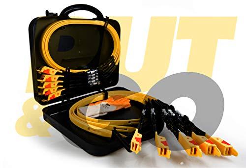 NEW PUT&GO EVOL 4 Dispositivo Universale con Placca Acciaio Fasce Fascette da Neve Sostituisce Le Catene Visto in TV
