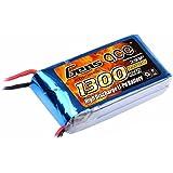 Gens ace LiPo Batterie 1300mAh 7.4V 25C 2S pour Passe-temps RC Toys RC Car RC Hélicoptères RC Avion RC Bateau RC Truck
