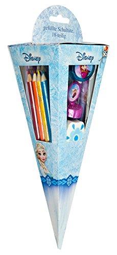 Undercover FRZH7293 Kindergartentasche, Disney Frozen, ca. 21 x 22 x 8 cm Malset Schultüte