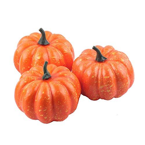 ative Kürbis Halloween Props Faux Gemüse Vorgeben Spielzeug Fotografie Essen (Kürbis-prop)