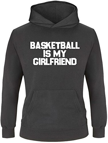 EZYshirt® Basketball is my girlfriend Kinder Hoodie