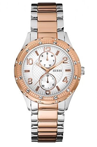 Guess Women's Quartz Watch W0442L4 with Metal Strap