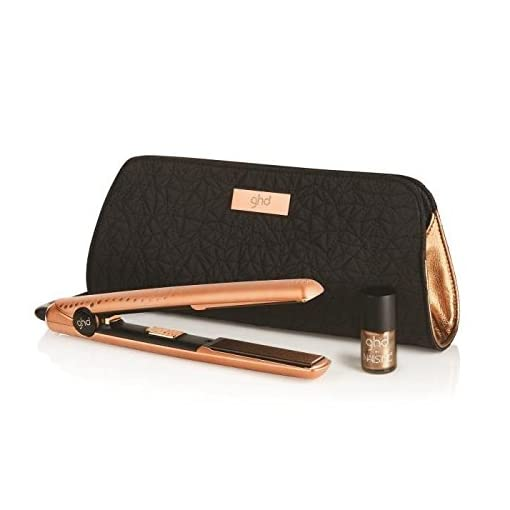 ghd v gold copper - 41hJVS 2B8UfL - ghd V Gold Copper Luxe Styler Premium Gift Set