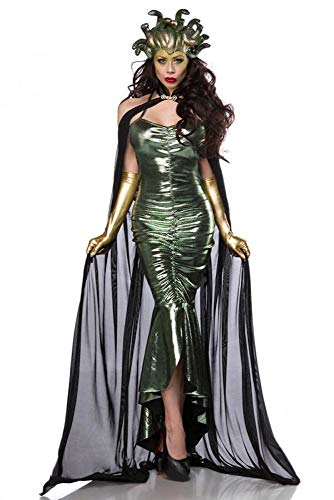 shoperama Super Deluxe Mystic Medusa Damen Kostüm Schlangen Mythologie griechische Göttin, - Medusa Göttin Kostüm