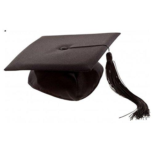 Preisvergleich Produktbild S/O® Doktor Bachelor Hut Uni Diplom Hut Abschlussfeier Doktorand