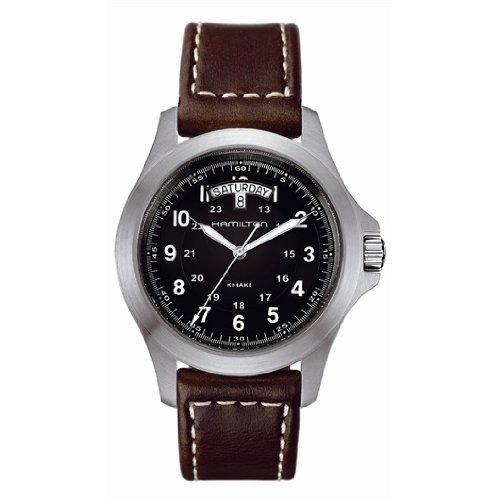 Hamilton H64451533 - Reloj (Reloj de pulsera, Masculino, Acero inoxidable, Acero inoxidable, Marrón, Zafiro)