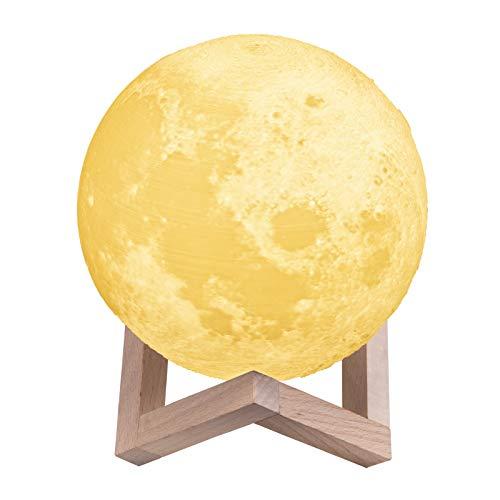 Korpus Mondlampe Kinder Nachtlichter Kinderzimmer Touch-Steuerung Helligkeit LED 3d - Tippen Led-licht