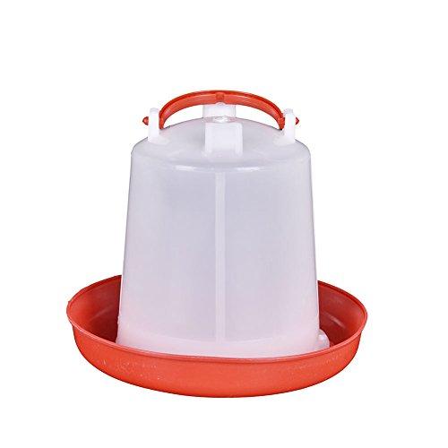 Zantec Wasserspender für Hähnchen Zum Aufhängen 1,5l